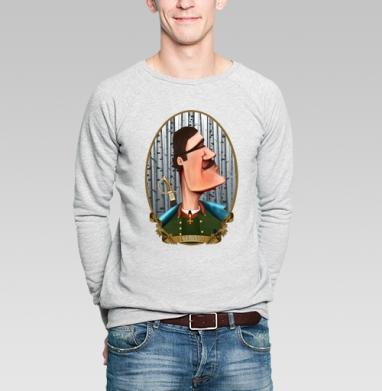 Петрович - Купить мужские свитшоты Россия в Москве, цена мужских  Россия  с прикольными принтами - магазин дизайнерской одежды MaryJane