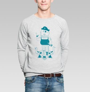 Пират - Купить мужские свитшоты с черепом в Москве, цена мужских  с черепом  с прикольными принтами - магазин дизайнерской одежды MaryJane