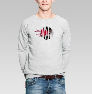 Red riding hoooood - Купить мужские свитшоты со сказками в Москве, цена мужских свитшотов со сказками  с прикольными принтами - магазин дизайнерской одежды MaryJane