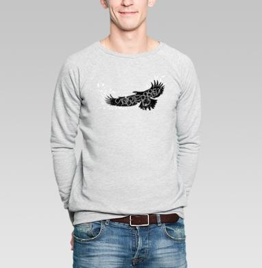 Слово не воробей - Купить мужские свитшоты с надписями в Москве, цена мужских свитшотов с надписями  с прикольными принтами - магазин дизайнерской одежды MaryJane