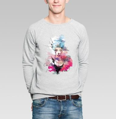 Снежная Королева - Купить мужские свитшоты со сказками в Москве, цена мужских свитшотов со сказками  с прикольными принтами - магазин дизайнерской одежды MaryJane