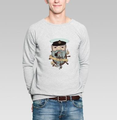 Старый капитан - Купить мужские свитшоты свобода в Москве, цена мужских свитшотов свобода  с прикольными принтами - магазин дизайнерской одежды MaryJane