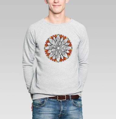 Ультра-чакра позитивация активация - Купить мужские свитшоты с рыбой в Москве, цена мужских свитшотов с рыбой  с прикольными принтами - магазин дизайнерской одежды MaryJane