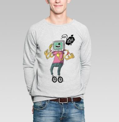 Xa-xa-xa - Купить мужские свитшоты с грибами в Москве, цена мужских свитшотов с грибами с прикольными принтами - магазин дизайнерской одежды MaryJane