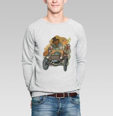 Хорошая компания - Купить мужские свитшоты с автомобилями в Москве, цена мужских свитшотов с автомобилями  с прикольными принтами - магазин дизайнерской одежды MaryJane