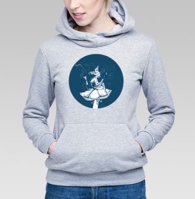 Синяя гусеница - Купить детские толстовки с персонажами в Москве, цена детских толстовок с персонажами  с прикольными принтами - магазин дизайнерской одежды MaryJane