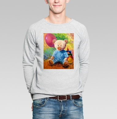 Мишка Алекс - Купить мужские свитшоты с играми в Москве, цена мужских  с играми  с прикольными принтами - магазин дизайнерской одежды MaryJane