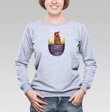 В душЕ он тоже хипстер - Купить детские свитшоты хипстерские в Москве, цена детских свитшотов хипстерских  с прикольными принтами - магазин дизайнерской одежды MaryJane