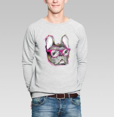 Бульдожка - Купить мужские свитшоты модные в Москве, цена мужских  модных  с прикольными принтами - магазин дизайнерской одежды MaryJane