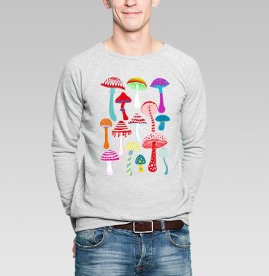 машрумс - Купить мужские свитшоты с илюстрациями в Москве, цена мужских свитшотов с илюстрациями  с прикольными принтами - магазин дизайнерской одежды MaryJane