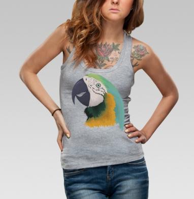 Борцовка женская чёрная рибана 200гр - Parrot