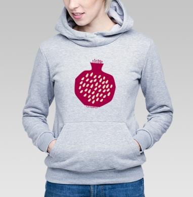 Гранатовый всплеск - Купить детские толстовки с фруктами в Москве, цена детских толстовок с фруктами  с прикольными принтами - магазин дизайнерской одежды MaryJane
