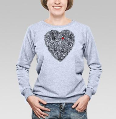 Два сердца вместе - Купить детские свитшоты с любовью в Москве, цена детских свитшотов с любовью  с прикольными принтами - магазин дизайнерской одежды MaryJane