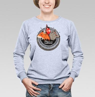 Мои любимые индейцы  - Купить детские свитшоты с индейцами в Москве, цена детских свитшотов с индейцами  с прикольными принтами - магазин дизайнерской одежды MaryJane
