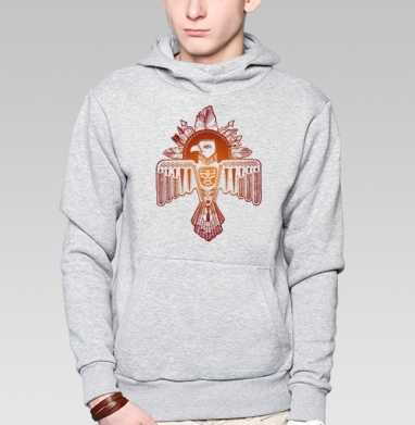 Громовая птица - Купить мужские толстовки Ниндзя в Москве, цена мужских толстовок Ниндзя  с прикольными принтами - магазин дизайнерской одежды MaryJane