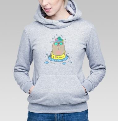 Тюлеша - Купить детские толстовки с персонажами в Москве, цена детских толстовок с персонажами  с прикольными принтами - магазин дизайнерской одежды MaryJane