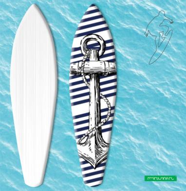 Тельняшка  - Наклейки на серф