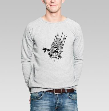 Семьдесят два - Купить мужские свитшоты абстрактные в Москве, цена мужских свитшотов абстрактных  с прикольными принтами - магазин дизайнерской одежды MaryJane