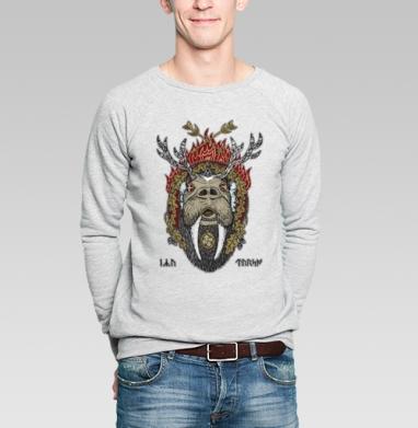 Ику-Турсо - Купить мужские свитшоты с пиратом в Москве, цена мужских свитшотов пиратских с прикольными принтами - магазин дизайнерской одежды MaryJane