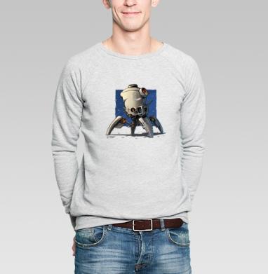 Робо  - Купить мужские свитшоты с роботами в Москве, цена мужских свитшотов с роботами с прикольными принтами - магазин дизайнерской одежды MaryJane