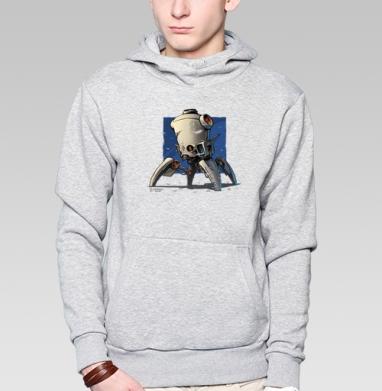 Робо  - Купить мужские толстовки Ниндзя в Москве, цена мужских  Ниндзя  с прикольными принтами - магазин дизайнерской одежды MaryJane