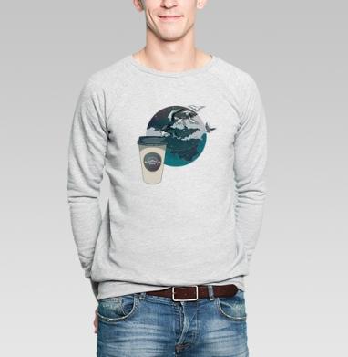 Время кофе - Купить мужские свитшоты с городами в Москве, цена мужских  с городами  с прикольными принтами - магазин дизайнерской одежды MaryJane