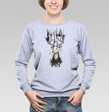Олень в брызгах - Купить детские свитшоты хипстерские в Москве, цена детских свитшотов хипстерских  с прикольными принтами - магазин дизайнерской одежды MaryJane