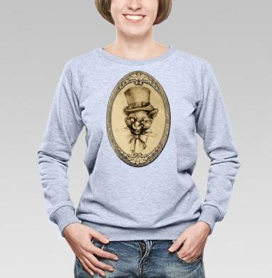 Барсик аристократ - Купить детские свитшоты ретро в Москве, цена детских свитшотов ретро  с прикольными принтами - магазин дизайнерской одежды MaryJane