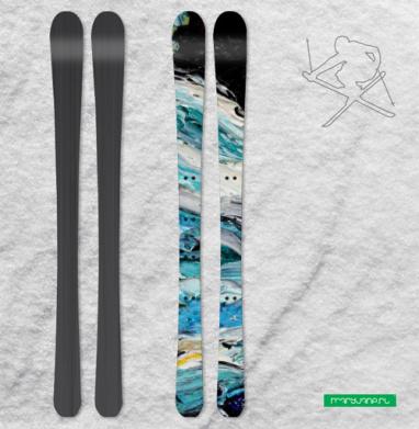 Акхор - Наклейки на лыжи