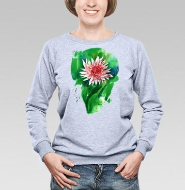 Цветок георгина - Купить детские свитшоты абстрактные в Москве, цена детских свитшотов абстрактных  с прикольными принтами - магазин дизайнерской одежды MaryJane