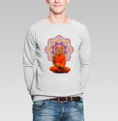 Оммм... - Купить мужские свитшоты с йогой в Москве, цена мужских свитшотов с йогой  с прикольными принтами - магазин дизайнерской одежды MaryJane