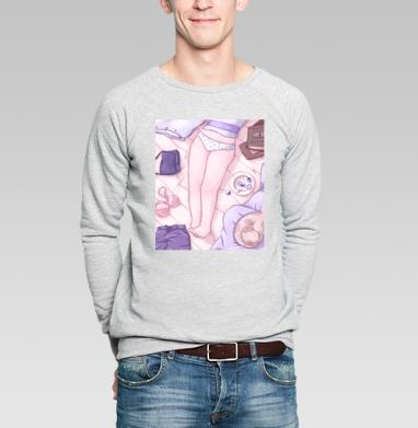Девичья Нежность  - Купить мужские свитшоты с летом в Москве, цена мужских  с летом  с прикольными принтами - магазин дизайнерской одежды MaryJane