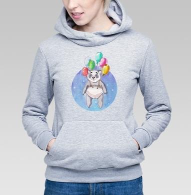 Панда-путешественница - Купить детские толстовки с медведем в Москве, цена детских  с медведем  с прикольными принтами - магазин дизайнерской одежды MaryJane