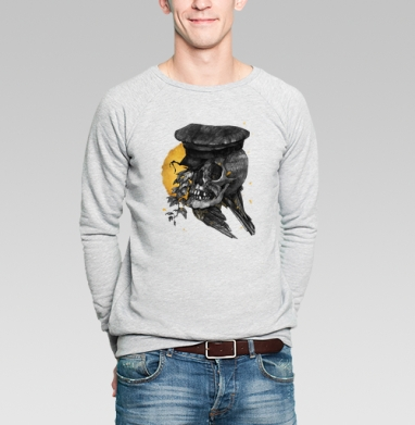 Плющ - Купить мужские свитшоты с людьми в Москве, цена мужских  с людьми  с прикольными принтами - магазин дизайнерской одежды MaryJane