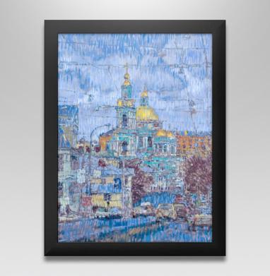 Елоховский собор - Печать на холсте москва