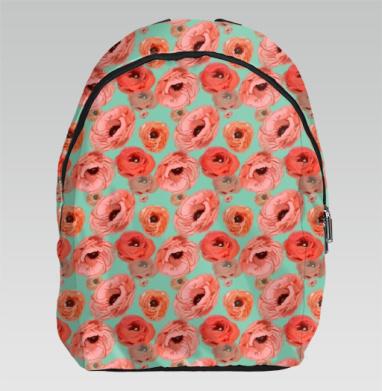 Яркие весенние цветы - Рюкзак