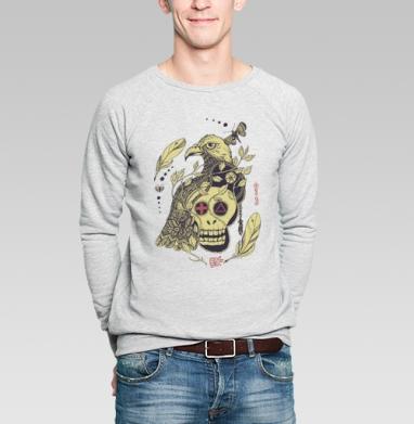 Птица бессмертия желтая - Купить мужские свитшоты этно в Москве, цена мужских  этно  с прикольными принтами - магазин дизайнерской одежды MaryJane