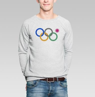 Четыре к одному - Купить мужские свитшоты Текстуры в Москве, цена мужских свитшотов Текстуры с прикольными принтами - магазин дизайнерской одежды MaryJane