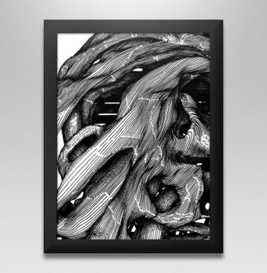 FUTUROOT - Постер в чёрной раме