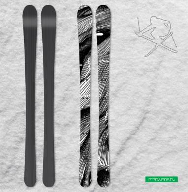 FUTUROOT - Наклейки на лыжи
