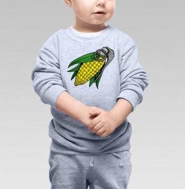 Взрывная кукуруза - Купить детские свитшоты АК-47 в Москве, цена детских свитшотов автомат Калашникова  с прикольными принтами - магазин дизайнерской одежды MaryJane