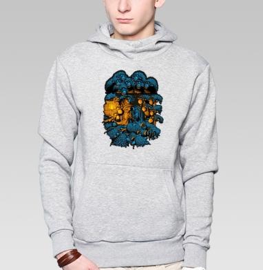 «Бессонница» - Купить мужские толстовки Ниндзя в Москве, цена мужских толстовок Ниндзя  с прикольными принтами - магазин дизайнерской одежды MaryJane