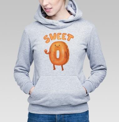 Любитель пончиков - Купить детские толстовки с едой в Москве, цена детских толстовок с едой  с прикольными принтами - магазин дизайнерской одежды MaryJane