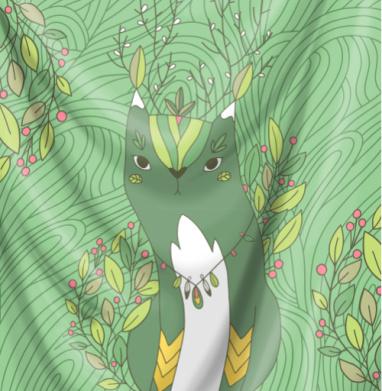 Кот Хранитель леса - природа, Популярные