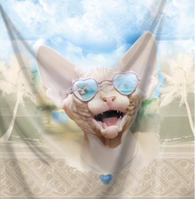 Настроение лето - кошка, Популярные