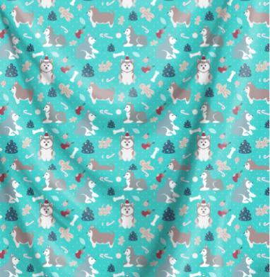 Очаровательные рождественские хаски - собаки, Популярные