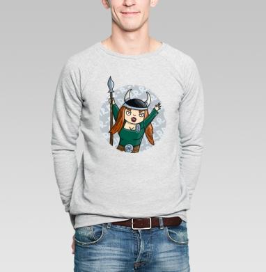 Викинги   (жен.) - Купить мужские свитшоты парные в Москве, цена мужских  парных  с прикольными принтами - магазин дизайнерской одежды MaryJane