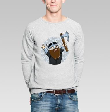 Викинги   (муж.) - Купить мужские свитшоты для влюбленных в Москве, цена мужских  дли влюбленных  с прикольными принтами - магазин дизайнерской одежды MaryJane