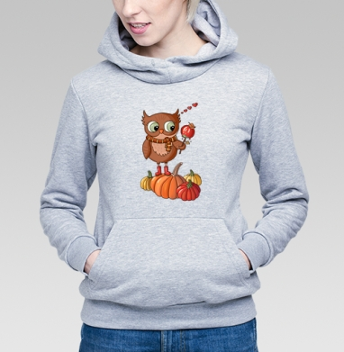 Осенняя сова  - Купить детские толстовки сладости в Москве, цена детских толстовок со сладостями  с прикольными принтами - магазин дизайнерской одежды MaryJane