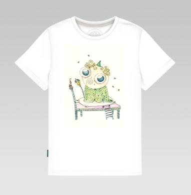 Детская футболка белая 160гр - Милый сон